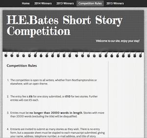 H.E. Bates rules