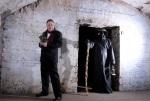 Philip Caveney with Plague Doctor 4