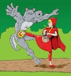 opening image little red riding hood