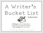 Writers Bucket List Cover - flat
