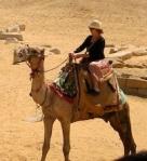 Darlene on camel