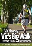 Vic's big walk with strapline