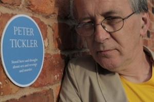 Peter and blue plaque