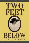 two feet below