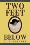 two feet below
