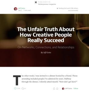 Unfair truth article
