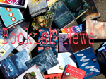 Bookish News: 1 August 2016
