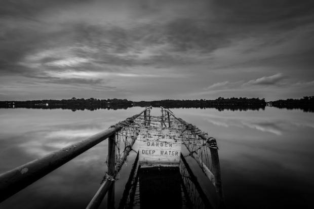 three line tales week 51 - danger deep water
