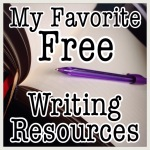 My Favorite Writing Resources List