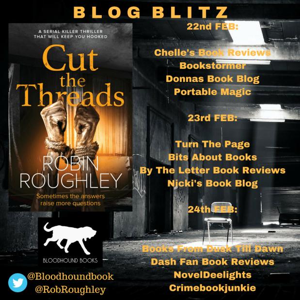 Robin Roughley Blitz Poster - Cut the Thread